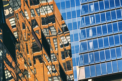 RFLCT (reinfected) Tags: new york city nyc blue windows ny abstract reflection building buildings minimal reflect minimalism minimalist mnml mnmlsm mnmlst