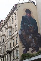 "photoset: Street Art: evoca1 - ""Imperishable Relics""  (Vienna 1060, Magdalenenstraße 20)"