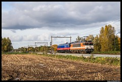25-10-15 Locon 9908 + HHPI 29009, Hengelo (Julian de Bondt) Tags: power international heavy 9900 haul hengelo 9908 locon 29009 westermaat
