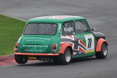 MINI Se7en Racing - R3 (27) Tristen Knight (Collierhousehold_Motorsport) Tags: mini minicooper barc snetterton minimiglia mini7 minise7en snetterton300 minise7enracing