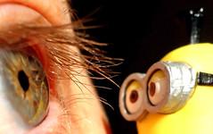 Minion mirror (The Snige) Tags: eye film mirror kevin close character explore eyelash minions