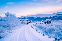 Dovregubbens Hall in November light (Explored) (Reidar Trekkvold) Tags: winter snow ice norway landscape norge is vinter natur dovre sn dovregubbenshall