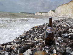 Seven Sisters Cliffs - Sussex - England (between Seaford and Eastbourne) (Michal Raty) Tags: world voyage trip travel england beer landscape sussex bottle belgium cerveza creative ale cliffs traveller explore eastbourne cheers bier ameliepoulain paysage brew birra sevensisters seaford flasche trappist craie manche botella bire falaises bouteille belgianbeer pivo routard globetrotter aroundtheworld orval trappiste beerphotography tourdumonde trappistes trappistenbier trappistbeer untappd orvalaroundtheworld orvalfaitsontourdumonde