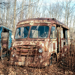 Rusty Milk Truck