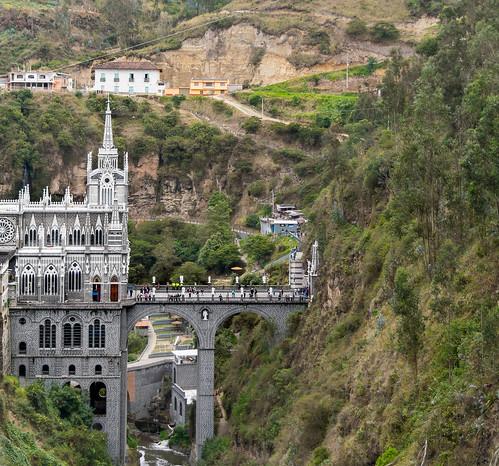 Iglesia Santuario de las Lajas