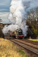 GCR_2015_11_21_146 (Phil_the_photter) Tags: 777 n2 greatcentralrailway blackfive 1744 gcr 6990 9f black5 45305 30777 sirlamiel 92214 witherslackhall
