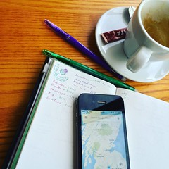 Adventure Planning (InvaderXan) Tags: travel notebook scotland