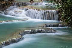 Kuang Si Waterfall, Laos (Nancy-D) Tags: red