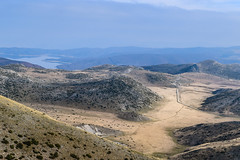 Overlooking Bistra plains (✓ Elena Pejchinova) Tags: road mountain lake landscape horizon macedonia plain bistra horison mountbistra