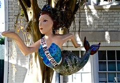 Miss Beaufort - Mermaid - Explore 12-9-2015  #135 -  Beaufort SC (Meridith112) Tags: november autumn fall sc nikon library south southcarolina explore mermaid beaufort arsenal lowcountry carolinas 2015 beaufortcounty explored nikon2485 missbeaufort nikond610 explore1292015 beaufortlibrary