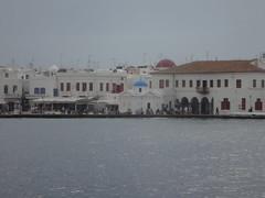 La ciudad, desde el barco. Chora. Isla de Mikonos. Grecia (escandio) Tags: grecia chora mikonos 2015 cicladas islademikonos