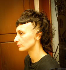 Undercut with V Fringe (wip-hairport) Tags: original haircut portugal fashion hair artist cut lisboa lisbon creative style fringe wip professional shave hairdresser strong salon shape newlook inspire hairstyle alternative personalized stylist undercut hairport hairlove wiphairport