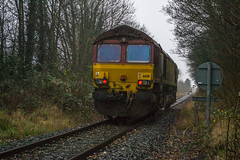 66_011_Trench_22_12_15 (chrisbe71) Tags: shed telford trench dbs ews 66011 trenchcrossing 0f52