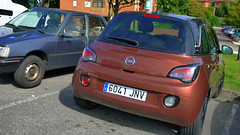 Opel (Jusotil_1943) Tags: 26092016 coches cars redcars