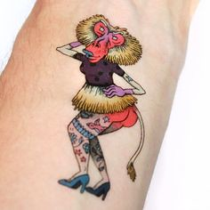 The Pinup & The Boxe (TattooForAWeek) Tags: the pinup boxe tattooforaweek temporary tattoos wicker furniture paradise outdoor