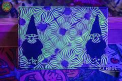 Little Econ Love Fest 2016 (AJ Hge Photography) Tags: ajhgephotography ajhegephotography canon 60d furtographer festival lilelf littleeconlovefest maddoxranch lakeland florida fun community love event night nighttime talent interesting travel explore artist newsource whatsitrecords art music live performance perform glow fluorescent fluorescence uv blacklight gnomies gnomes painting