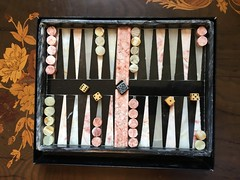 The marble set I bought off eBay last week has just arrived, it's really nice and is getting left on the coffee table at home. Mandarin Oriental Hotel Hong Kong marble backgammon set. (allanpar) Tags: mandarinorientalhotel marblebackgammonset mandarinhotel hongkong marble backgammon