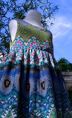 Vestido Delhi (Marta Romero) Tags: fotosenstreaming azul blue sky cielo indie india holi nature summer spring look design latin latino diseño girls style clothes nenas dress vestido moda fashion totoytati ropa girl