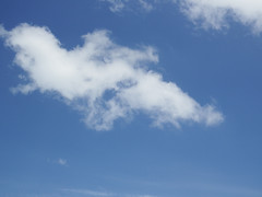Love is in the Sky (soniaadammurray - OFF) Tags: digitalphotography sky clouds blue heart nature love mondayblues