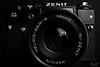 Zenit 11 - Front (Yosri Al-Kishawi) Tags: zenit11 zenit camera slr 35mm film old russian ussr soviet strobist flash studio antique