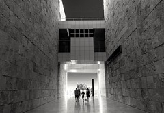 Getty Museum (stressnode) Tags: getty museum blackwhite circularpolarizer polarizer sonyalpha sony architecture