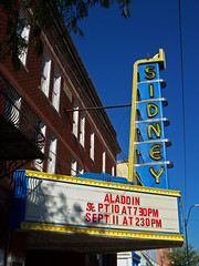 OH Sidney - Sidney Theater (scottamus) Tags: sidney ohio shelbycounty theater cinema sign marquee sidneytheater