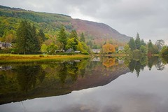 Loch Ard (Anne Oldfield) Tags: lochard scotland landscape reflection fall autumn nature water trees beautiful loch automne