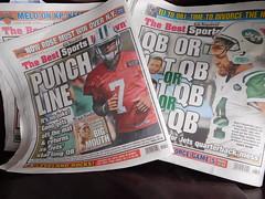 Season Over (Zan's World) Tags: ny jets new york football nfl gino smith