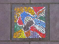 mosaic 9 (streamer020nl) Tags: pavement tile tegel mozaiek mosaic mosaics holland almere flevoland pavemostile
