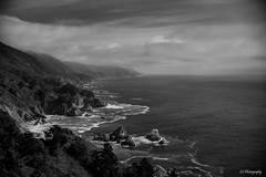 Learning to be (.KiLTRo.) Tags: bigsur california unitedstates kiltro sea ocean outdoor water nature sky clouds monterey coast shoreline