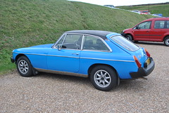 1979 MGB GT, as seen at Dover Castle (Alispoon) Tags: mgbgt 1979 blue sports