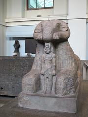 UK - London - West End - British Museum - Ram sphinx of King Taharqo (JulesFoto) Tags: uk england london westend britishmuseum ancientegypt ram sphinx