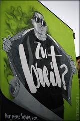 zu breit? (piktorio) Tags: berlin germany mural streetart advertising cool man drugs green wall painting youth toohigh kreuzberg typography song piktorio street shades