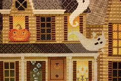 October 24 2016, Monday (interchangeableparts) Tags: worksinprogress needlepoint kirkbradley halloweenstitching
