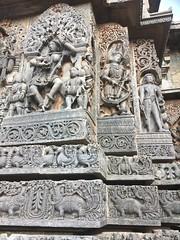 Temple walls 11 (kaushal.pics) Tags: helbedu hoysala