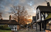 Dawn at the Herver Hotel, Kent (neilalderney123) Tags: ©2016neilhoward tree hotel tudor architecture hever dawn