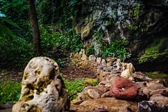 Rock shrines outside Dry Cave (figueirakevin) Tags: hanalei kapa kilauea cave kauai lighthouse