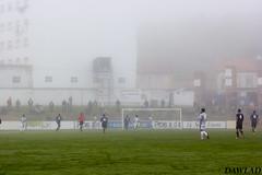Futbol con niebla (Dawlad Ast) Tags: real oviedo filial vetusta miramar estadio soccer marino club de futbol luanco gozon espaa spain octubre 2016 tercera division niebla fog