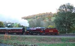 Severn Valley Railway 041116 - DSC_0998 (Leslie Platt) Tags: straightened exposureadjusted severnvalleyrailway highley lms260crablocomotive13065 seasonfinalegala