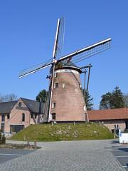 De Grote Napoleon, Hamme (Erf-goed.be) Tags: grotenapoleon molenvandekeizer windmolen molen oudhuysmariman hamme archeonet geotagged geo:lon=41328 geo:lat=510922 oostvlaanderen