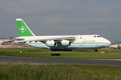 Libyan Arab Airlines Antonov 124 5A-DKN (Retro Jets) Tags: libyan an124 man