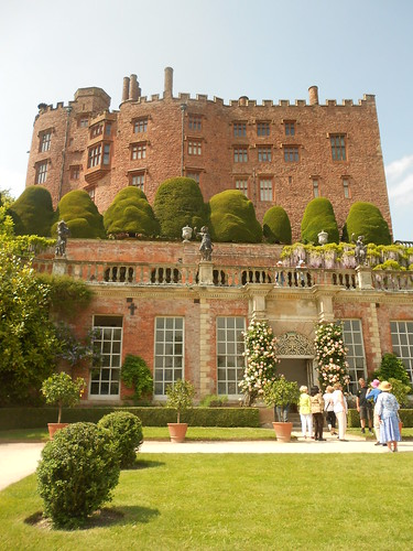 Powis Castle and orangery.