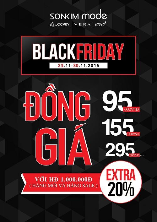 Black Friday giảm tất cả sản phẩm trong cửa hàng VERA