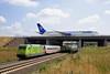 101 067 und Condor Boeing 757 (Zugbild) Tags: eisenbahn zug bahn train db sachsen leipzig halle flughafen lej br101 boeing goneo wm2006 railroad