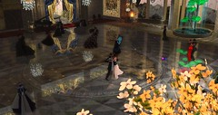 Avilion Grove - Anniversary Ball (Osiris LeShelle) Tags: secondlife second life avilion grove medieval fantasy roleplay ballroom ball formal dance masquerade celebration tenth anniversary