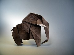 Elephant - Kunihiko Kasahara (Rui.Roda) Tags: origami papiroflexia papierfalten elefante elephant kunihiko kasahara