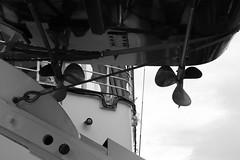 THE ROYAL YACHT BRITANNIA (Andrew Mansfield - Sheffield UK) Tags: royalyacht royalyachtbritannia britannia ship boat oceanterminal portofleith edinburgh scotland leith yacht lifeboat