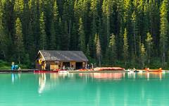 Lake Louise, Banff National Park, Alberta (keyboarddefiant) Tags: lake water landscape rockies banffnationalpark lakelouise