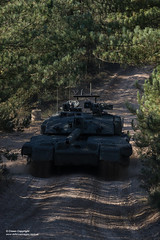 Challenger 2-Megatron (Defence Images) Tags: forest woods wooded landscape terrain dappledlightdappledlight driving moving challenger2 mbt mainbattletank tank combatvehicles vehicle equipment army location barracks locations uk bovington action aiming training defence free defense british military dorset