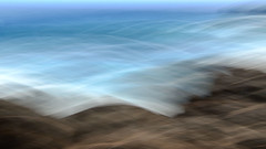 La Runion (ingridkreuz) Tags: runion indischerozean indianocean insel frankreich france outremer strand beach brandung gischt wild abstract langzeitbelichtung longtime